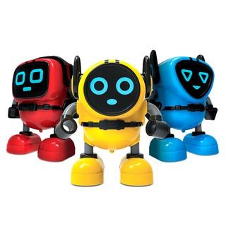 Robot gyro finger rotation fingertips battle ruler battle gyro vibrato children's toys birthday gift ahagt06