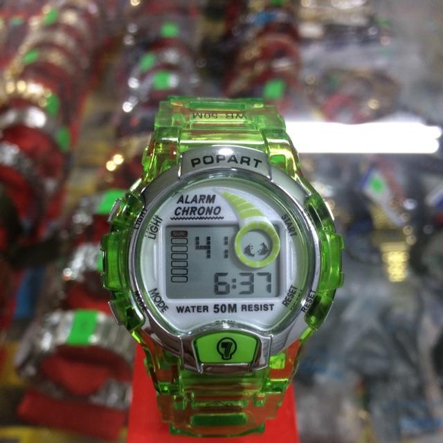 Đồng hồ điện tử trẻ em popart