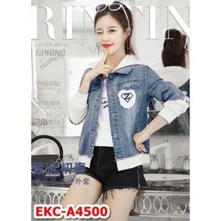 _Giảm giá sốc_ Áo Khoác Jean Nữ Có Mũ Phong Cách Hàn Quốc- Có Chống Nắng Và Giữ Ấm Cơ Thể _SaraHan Fashion