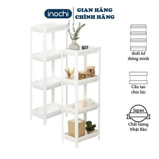 Kệ nhựa, nhà tắm đa năng chia 4 tầng Inochi Nhà Bếp Kệ Gia vị, đựng mỹ phẩm thông minh KET4T
