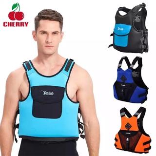 COD Adjustable Neoprene Life Vest For Kayaking Boating Swimming Drifting Safety Life Jacket