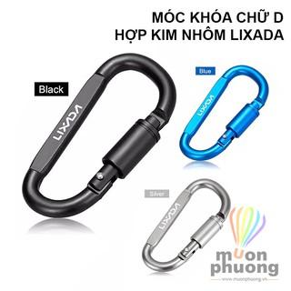 Móc treo khóa chữ D đa năng carabiner hợp kim nhôm siêu nhẹ LIXADA - MUÔN PHƯƠNG SHOP thumbnail