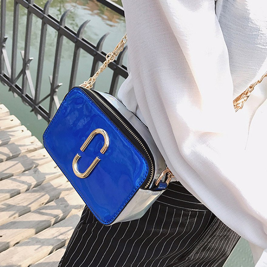 ♫COD♫Trendy Design Paper Clip Style Women PU Leather Bag Casual Crossbody Bag