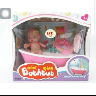 Bộ đồ chơi tắm cho búp bê vòi sen