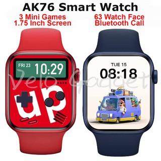 Đồng Hồ Thông Minh Ak76 Bluetooth Màn Hình Cảm Ứng 1.75 Inch Hỗ Trợ Theo Dõi Sức Khỏe