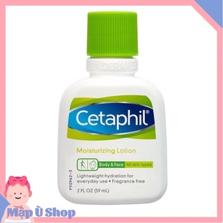 Sữa dưỡng ẩm Cetaphil Moisturizing lotion dùng cho mặt và toàn thân 59ml