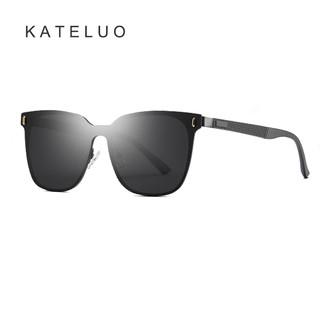 Phụ kiện thời trang 2020 KATELUO 8033 Kính râm phân cực quá khổ cho nam và nữ cổ điển