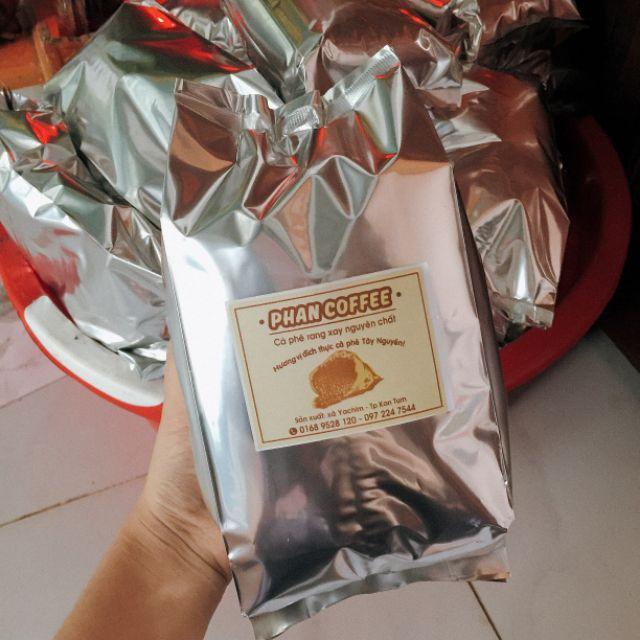 (0.5kg) Cà phê sạch rang xay nhà làm Phan Coffee