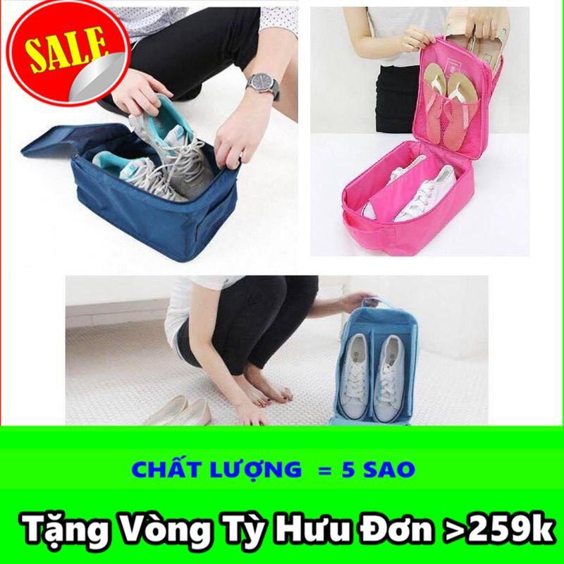 [HOT]   Túi đựng giày du lịch chống thấm 3 ngăn tiện ích