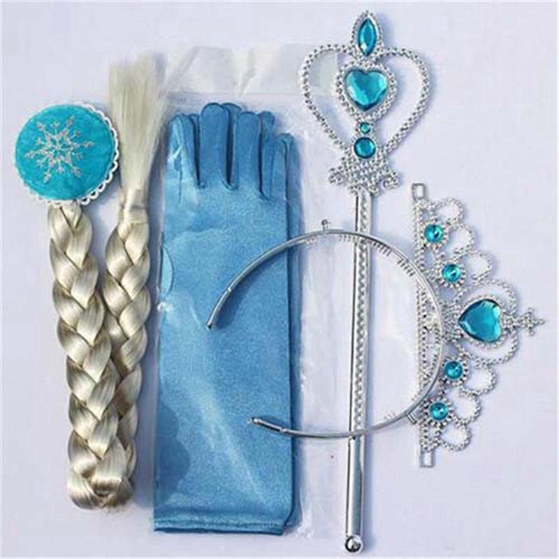 Bộ đầm và phụ kiện hóa trang công chúa cho bé gái