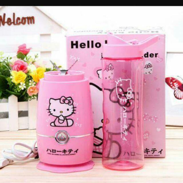 Máy xay sinh tố Mini Hello Kitty.