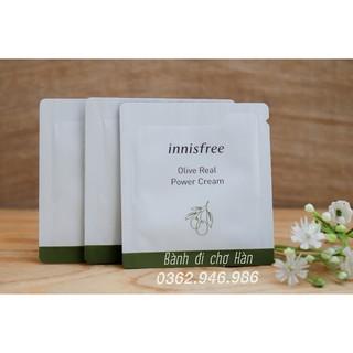 [Sample] Kem Dưỡng Ẩm Innisfree Olive Real Power Cream Ex 1ml thumbnail