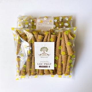 Nụ trầm hương lộc phát trầm loại 2 - trầm tự nhiên (túi 50 viên) - hình 2