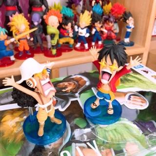 Set mô hình tĩnh WCF One Piece Iron Pirate Franky Shogun FG 01&02