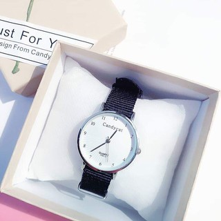 Đồng hồ thời trang nữ Candycat dây dù trẻ trung CSC539