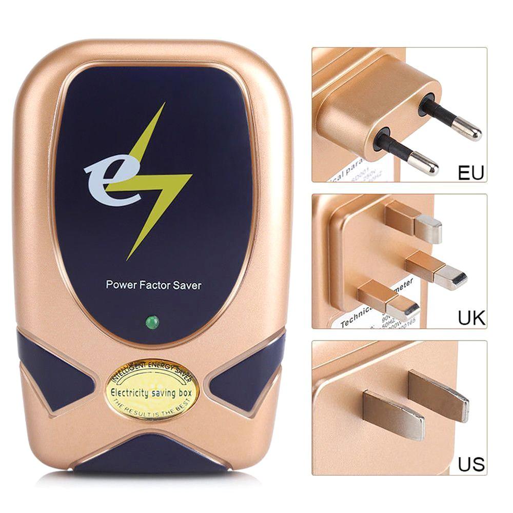 Digital Home Electricity Power Energy Saver 28KW 90V-250V LED Electrical Saving Box Electric En-AUGU