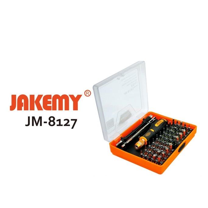 [SALE 10%] Bộ vít đa năng JAKEMY JM 8127 53 in 1, bộ tua vít, bộ tô vít