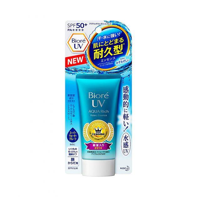 Kem chống nắng Biore UV Aqua Rich Watery Essence SPF 50+/ PA++++ 40ml