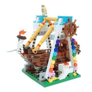 Bộ 520 Miếng Lắp Ráp Tàu Cướp Biển Sáng Tạo