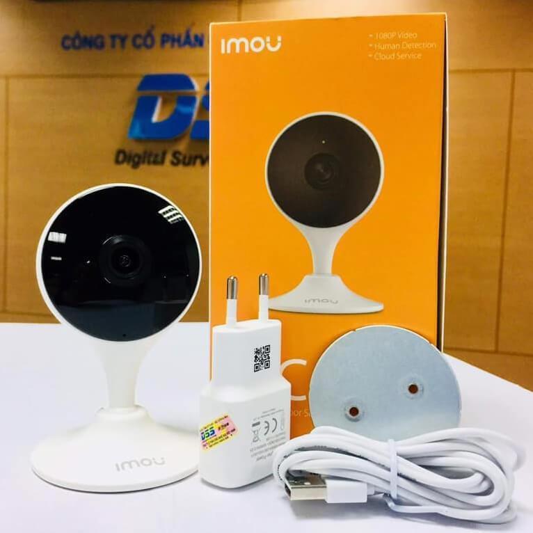 Camera Wifi Dahua Cue2 IPC-C22EP-IMOU 1080p Full HD - Kết nối WiFi (Có kèm thẻ nhớ)