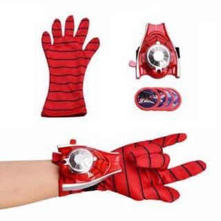 ( Sale sốc 20%) 🎁🎁 Đồ chơi găng tay siêu nhân người nhện + bộ bắn đĩa cho bé trai năng động