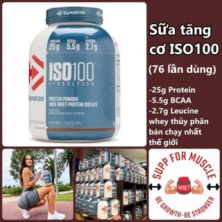 ISO 100 – sữa tăng cơ cao cấp chính hãng