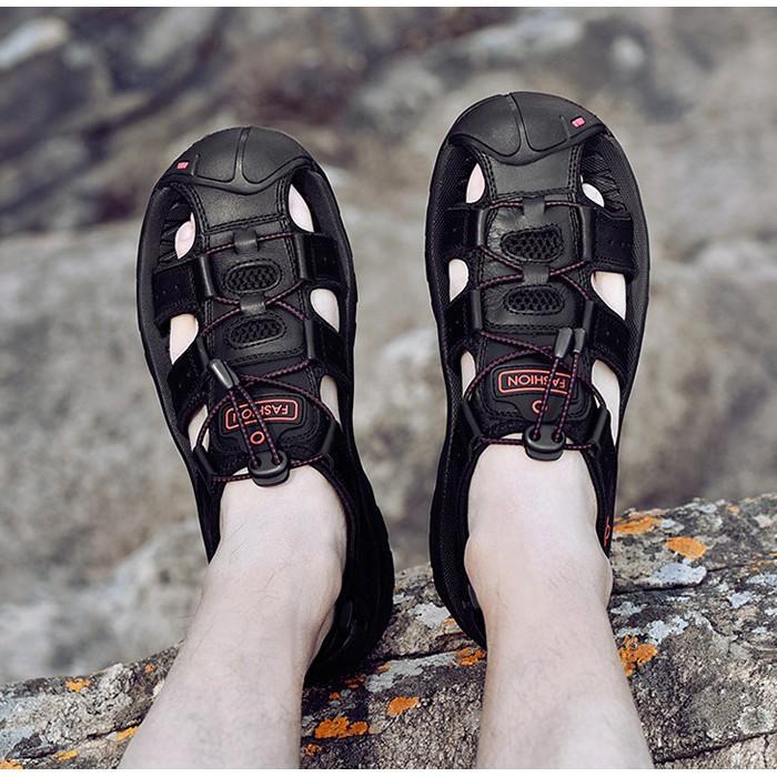 [Freeship] Giày dép nam bền đẹp cao cấp thoáng khí và mạnh mẽ. [rẻ vô địch]