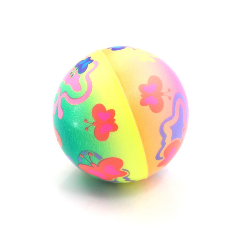 1PC Stress Relief Vent Ball Butterfly Squeeze Foam Ball Hand Relief Kids Toys