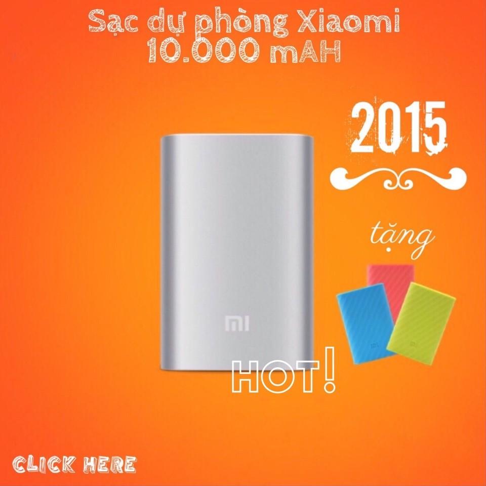 [CHÍNH HÃNG] SẠC DỰ PHÒNG XIAOMI 10000 MAH-XIAOMI POWER BANK