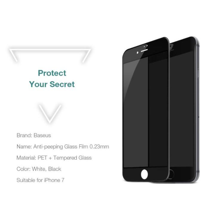 Kính cường lực iPhone 6 / 6plus Baseus chống nhìn trộm