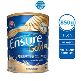 """Sữa bột Ensure Gold Abbott (HMB) lúa mạch  850g giá chỉ còn <strong class=""""price"""">68.900.000.000đ</strong>"""