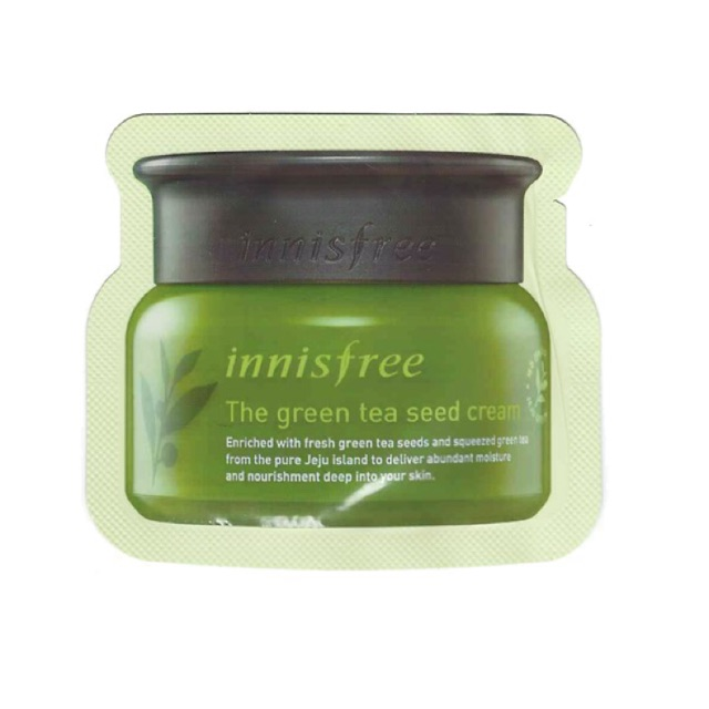 Sample Kem dưỡng da innisfree green tea SEED CREAM