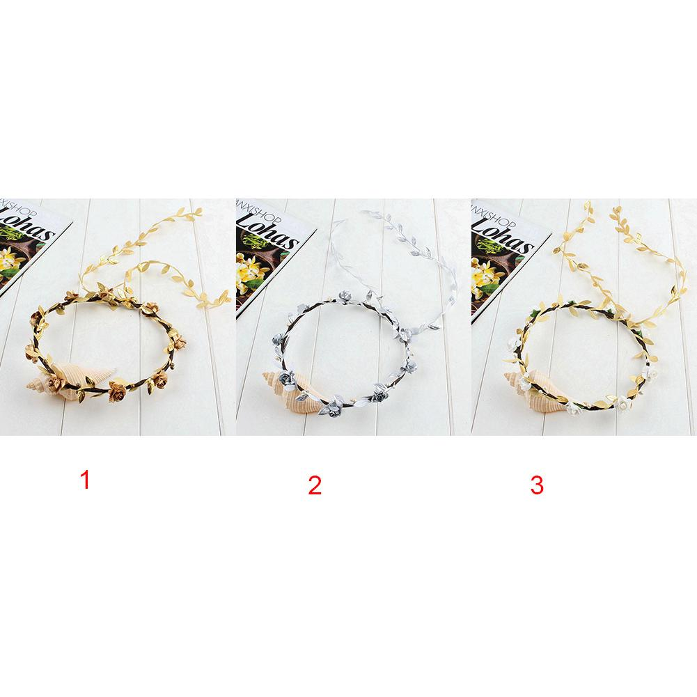 Girl's Hair Accessories Apparel Accessories Festival Wedding Wreath Garland Crown Flower Headpiece Photography Tool For Adults And Children