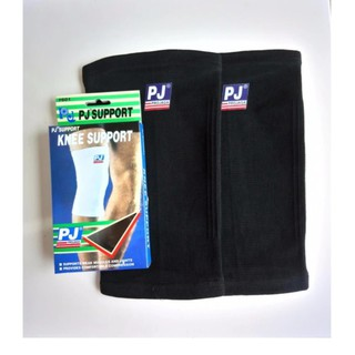 Combo bộ 2 bó gối thể thao PJ 601 màu đen, màu kem – Quần gối PJ – Băng bảo vệ đầu gối PJ