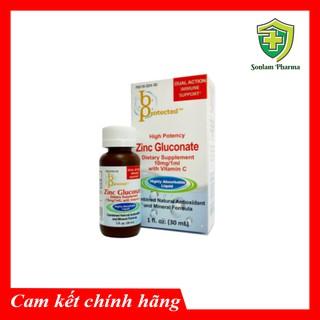 ZINC GLUCONATE Siro bổ sung kẽm và vitamin C cho trẻ em và người lớn