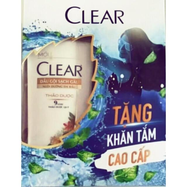 [Tặng Khăn] Clear thảo dược 650ml