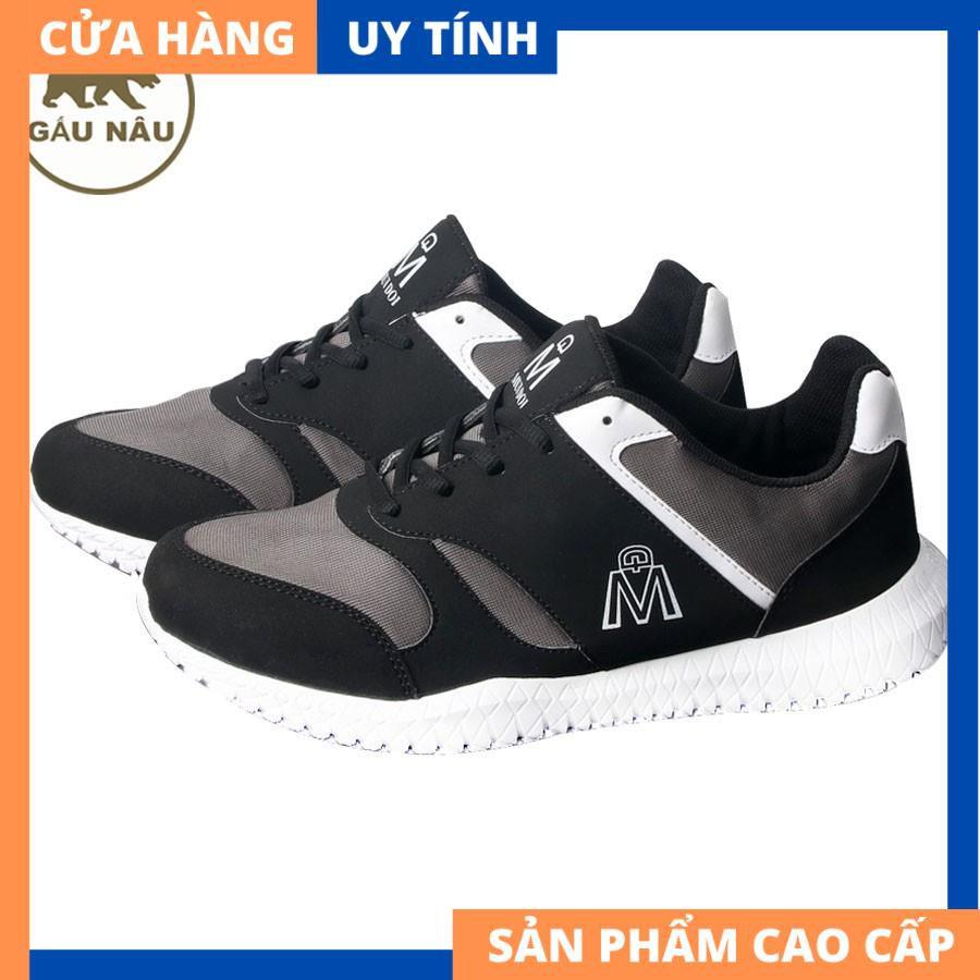 Giày sneaker thể thao VP406 siêu bền siêu rẻ Gấu Nâu [HÀNG CAO CẤP]