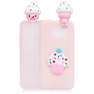 For Samsung Galaxy S6 cartoon 3D silicone case