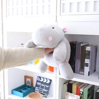 Birthday Cartoon Children Cute Down Cotton Gifts Hippo Shape Soft Plush Doll