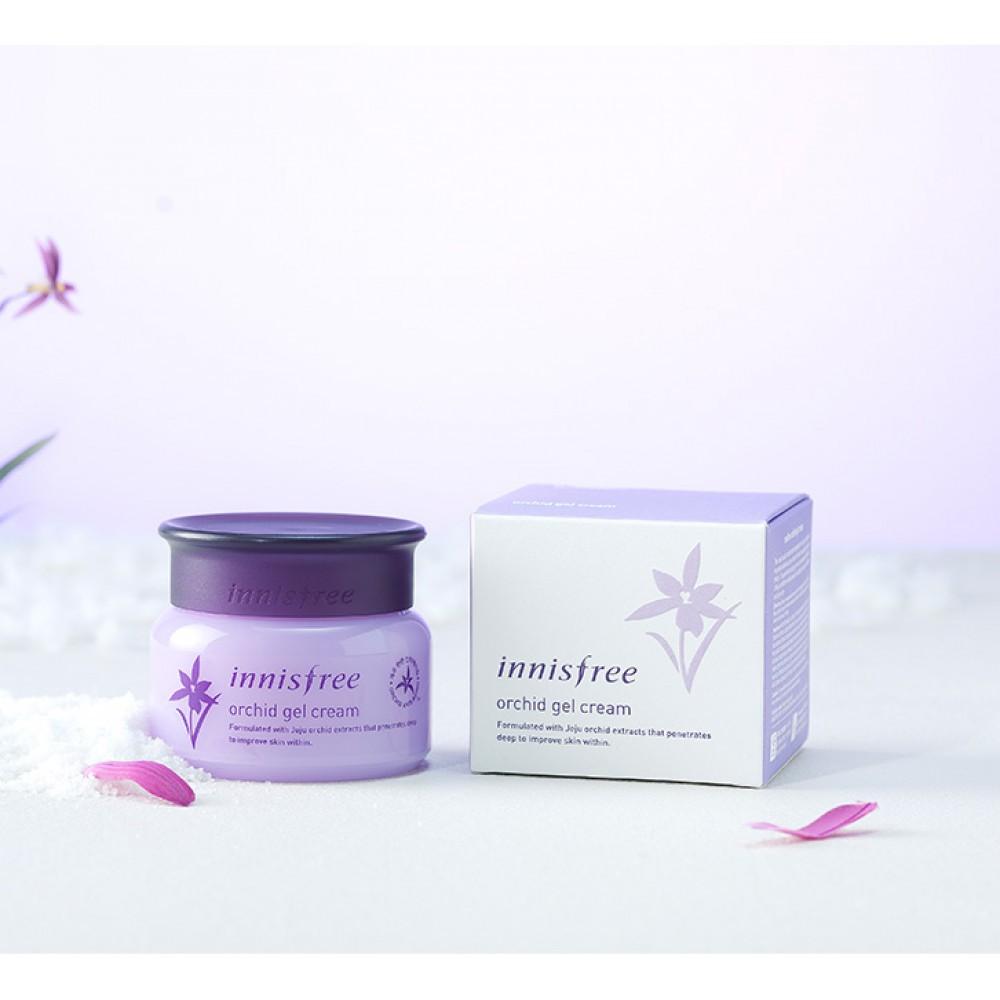 Kem dưỡng da chống lão hoá Innisfree Jeju Orchid Gel Cream