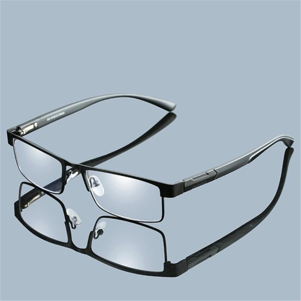 💜LAYOR💜 Men Eyeglasses Magnifying +1.00~+4.0 Diopter Business Reading Glasses Flexible Portable New Fashion Ultra Light Resin Metal Titanium Alloy Eye...