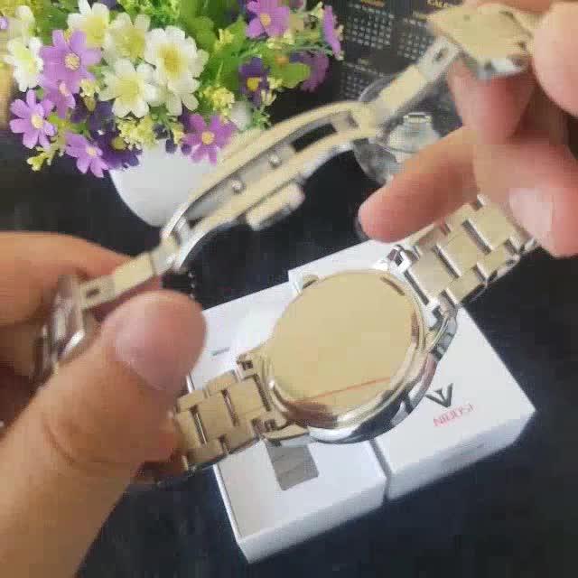 [Tặng vòng tay] Đồng hồ nam NIBOSI NI2318.05 chính hãng dây thép không gỉ cao cấp