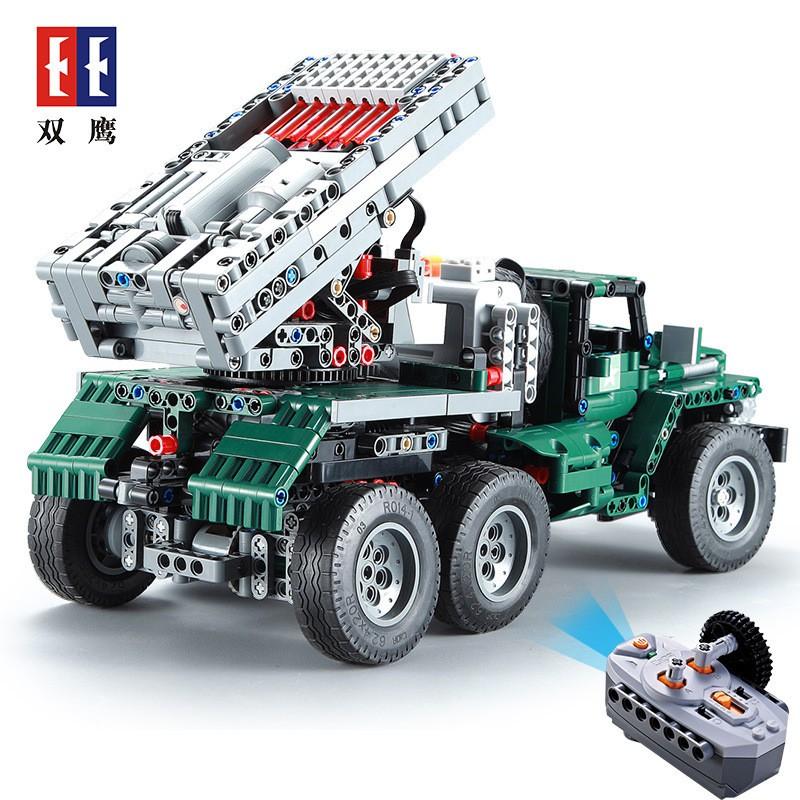 Bộ lắp ghép Lego Technic CADA C61002 có điều khiển từ xa và cảm biến NLG0055 [VTLEGO]