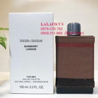 [Mã 229FMCGSALE giảm 8% đơn 500K] [Tester] Nước hoa Nam Burberry London EDT 100ml thumbnail