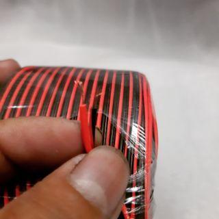 Dây điện đôi màu đỏ đen loại nhỏ