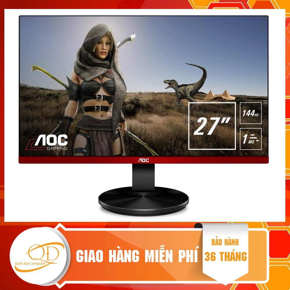 Màn hình AOC G2790VX/74 (27inch/FHD/VA/144hz/1ms/350nits/HDMI+DP)