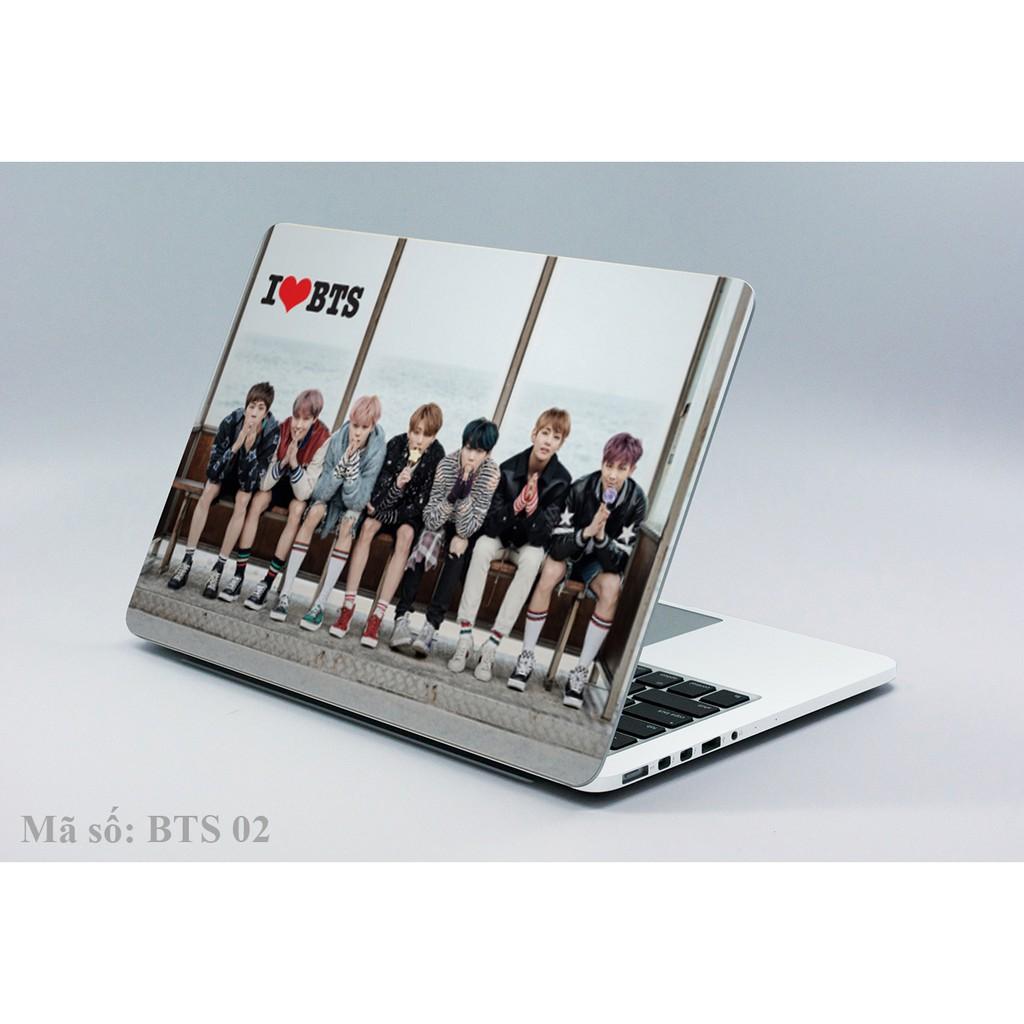 Decal laptop- Ipad BTS