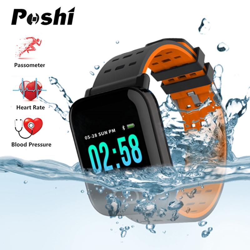 A6 Sport Smart Watch Men Women Blood Pressure Waterproof Activity Fitness tracker