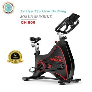 Xe đạp tập gym đa năng JOBUR GH806, xe đạp tập thể dục, hiện đại sang trọng, kết nối bluetooths. thumbnail