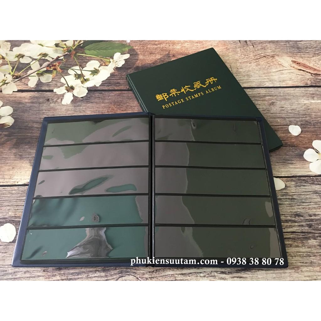 [RẺ BẤT NGỜ] Cuốn Album PCCB Chứa Đựng 500 Con Tem Hàng Taiwan - TMT Collection - PCCBTX2X
